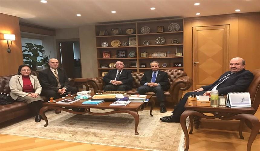 BDDK Başkan'ı Mehmet Ali AKBEN' e nezaket ziyareti